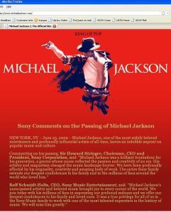 selamat jalan michael jackson